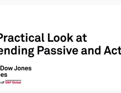 S&P Dow Jones Indices – Blending Passive with Active