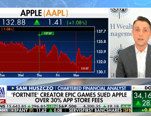 The Claman Countdown: Apple Stock Earnings vs AntiTrust